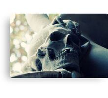 One tooth missing Canvas Print
