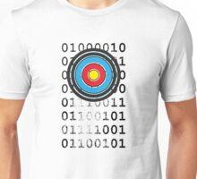 Bullseye archery target design Unisex T-Shirt