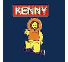 Kenny // Lego Photographic Print