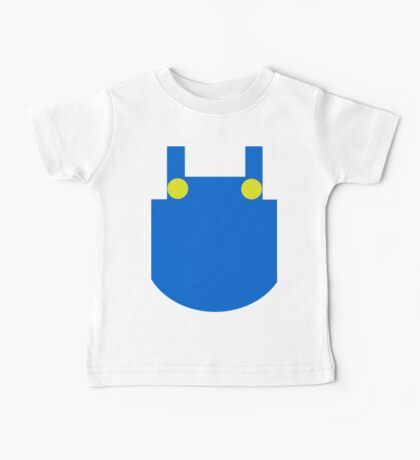 Mario Dungaree Print Baby Tee