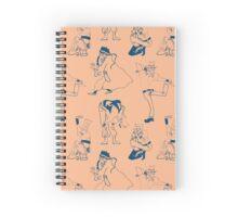 SDC: Joseph, Abdul and Polnareff (peach ver.) Spiral Notebook