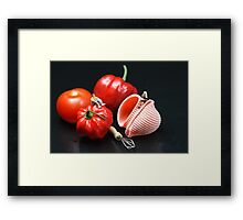 Adam And Eve's Cookbook  Framed Print