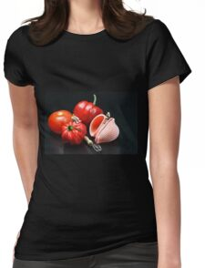 Adam And Eve's Cookbook  Womens Fitted T-Shirt