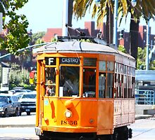 Number 1856 - Milan Streetcar in San Francisco  by fototaker