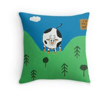 The Cowichan Valley Throw Pillow