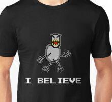 I Believe SkiFree Dark Unisex T-Shirt