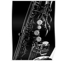 Saxophone keywork, 1 of 4 (top left) Poster
