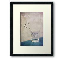 coeur Framed Print