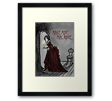 Make Mine Macabre Framed Print