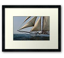 Schooner Alabama Framed Print