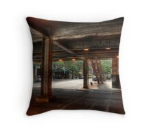 Lower Michigan Avenue Throw Pillow