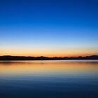 Yellowstone Lake Dawning by Kenneth Keifer