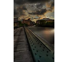 State Street Bridge, Milwaukee Photographic Print