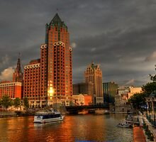 Milwaukee Riverboat by Matt Erickson