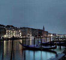 shore night scene by ninesmith33