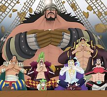 7 Underling Straw Hat Pirates by Bamboer