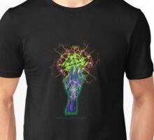 Consciousness in my palm Unisex T-Shirt