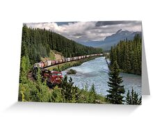 Canadian Pacific Railroad Greeting Card