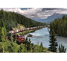 Canadian Pacific Railroad Photographic Print