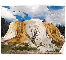 Orange Spring Mound, Yellowstone Poster