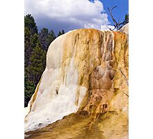 Orange Spring Mound, Closeup Photographic Print
