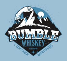 S. Claus Distillery - Bumble Whiskey Kids Tee