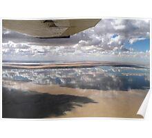 Lake Eyre, SA Poster