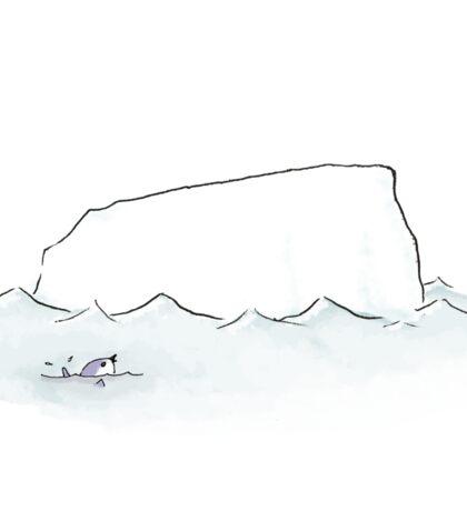 Penguin and Iceberg Sticker