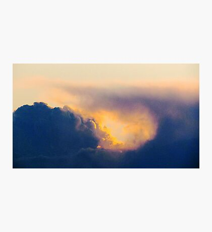 Storm clouds  Photographic Print
