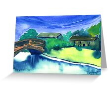Alport Village, Derbyshire (1) Greeting Card