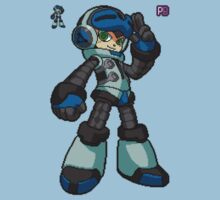8 Bit Mighty No 9 Beck, original design by PB by BerryRare