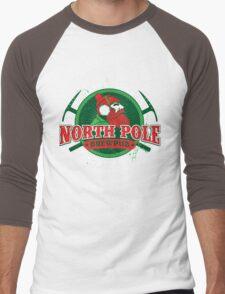 Yukon Cornelius North Pole Brewpub Men's Baseball ¾ T-Shirt
