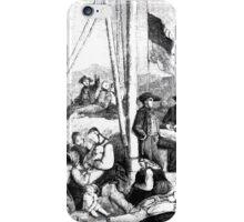 Heinrich Leutemann Die Gartenlaube 1864 b 085 iPhone Case/Skin