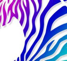 Creative horse bar code pattern Sticker