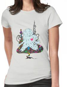 Hookah Monster Womens Fitted T-Shirt