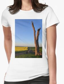 Solitude Womens Fitted T-Shirt