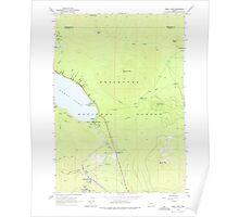 USGS Topo Map Oregon Odell Lake 280962 1963 24000 Poster