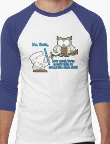 The galaxy may never know. Men's Baseball ¾ T-Shirt