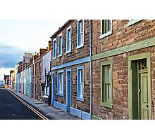 Coloured Houses Photographic Print