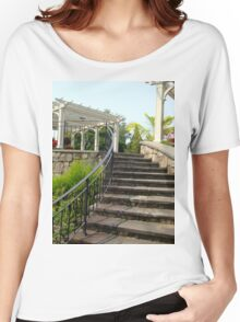 Arbor and Staircase Women's Relaxed Fit T-Shirt