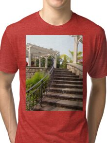 Arbor and Staircase Tri-blend T-Shirt