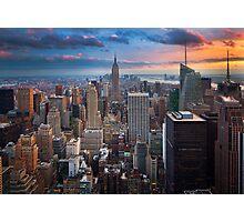 Big Apple Skyline Photographic Print
