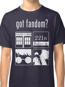 Got Fandom? Classic T-Shirt