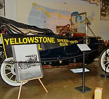 Yellowstone Speed Run 1915 by AnnDixon