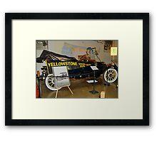 Yellowstone Speed Run 1915 Framed Print