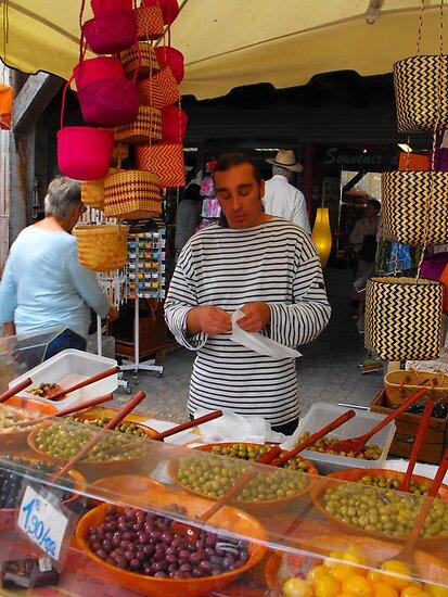 French market seller Eymet by graceloves