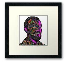 Psychedelic krieger Framed Print