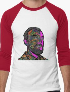 Psychedelic krieger Men's Baseball ¾ T-Shirt