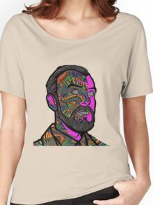 Psychedelic krieger Women's Relaxed Fit T-Shirt