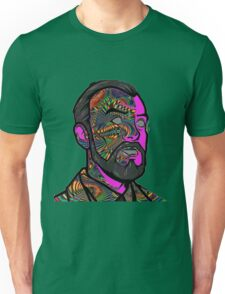 Psychedelic krieger Unisex T-Shirt